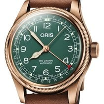 오리스 브론즈 40mm 자동 Big Crown Pointer Date Bronze Anniversary 40 01 754 7741 316 신규