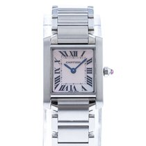 Cartier Tank Française Steel 20mm Mother of pearl Roman numerals United States of America, Georgia, Atlanta