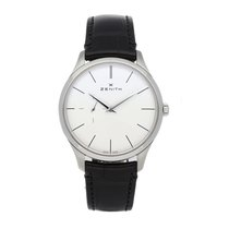 Zenith Elite Ultra Thin Steel 40mm White No numerals United States of America, Pennsylvania, Bala Cynwyd