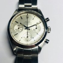 Rolex Chronograph Steel 36mm Silver (solid) No numerals