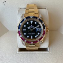 Rolex 116758SARU Yellow gold GMT-Master II 40mm pre-owned