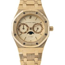 Audemars Piguet Royal Oak Day-Date Gelbgold Weiß