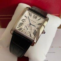 Cartier Tank MC neu 2015 Automatik Uhr mit Original-Box und Original-Papieren W5330003