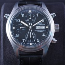 IWC Pilot Double Chronograph Steel 42mm Black Arabic numerals Singapore, Singapore