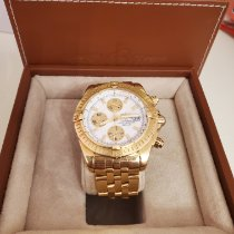 Breitling Chronomat Evolution Yellow gold 44mm Mother of pearl No numerals United States of America, New York, yonkers