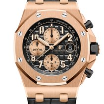 愛彼 Royal Oak Offshore Chronograph 玫瑰金 42mm 黑色