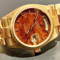 Rolex Day-Date 36 Or jaune 36mm Brun Sans chiffres France, marseille