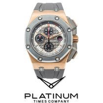 Audemars Piguet Royal Oak Offshore Chronograph Oro rosa 44mm Gris Sin cifras