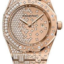 Audemars Piguet Royal Oak Lady Or rose 33mm Or Sans chiffres