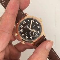 百達翡麗 Travel Time 玫瑰金 37.5mm 棕色 阿拉伯數字 香港