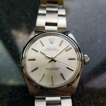 Rolex Oyster Perpetual 34 Stahl 34mm Silber