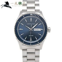 Hamilton Jazzmaster Seaview Steel 42mm Blue