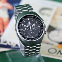Omega Speedmaster Mark II Stål 42mm Sort