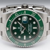 Rolex Submariner Date Steel 40mm Green No numerals Finland, Imatra