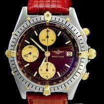 Breitling Chronomat Acier 39mm Bordeaux Sans chiffres