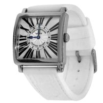 Franck Muller Master Square White gold 33mm Silver Roman numerals United States of America, New York, Greenvale