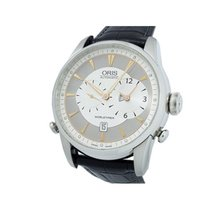 Oris Artelier Worldtimer Steel 42mm Silver