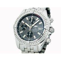 Breitling Chronomat Evolution Stahl 44mm Grau