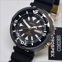Seiko Prospex Acier 51,7mm Noir Sans chiffres