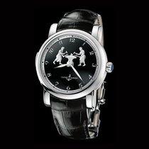 Ulysse Nardin Classic Minute Repeater Platinum 42mm Black Arabic numerals