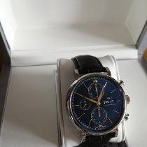 IWC Portofino Chronograph Acier 42mm Bleu France, MERIGNAC