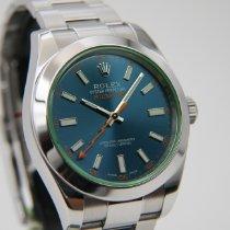 Rolex Milgauss Stahl 40mm Blau Keine Ziffern Deutschland, Reutlingen, Stuttgart, Frankfurt, München, Mainz, Zweibrücken, Heidelberg