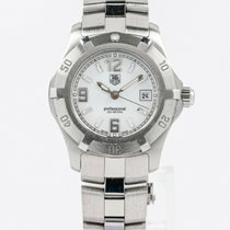 TAG Heuer Steel Quartz White 29mm pre-owned 2000