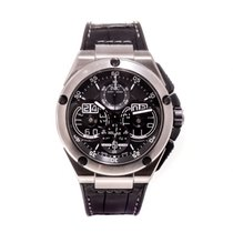 IWC Ingenieur Perpetual Calendar Digital Date-Month Titane 46mm Transparent