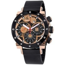 Jacob & Co. new Automatic Display back Luminous hands Luminous indices PVD/DLC coating 46.4mm Rose gold Sapphire crystal