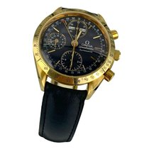 Omega Speedmaster Day Date Yellow gold 39mm Black No numerals United States of America, New York, Greenvale