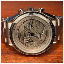 Omega Steel Manual winding Silver No numerals 42mm new Speedmaster Professional Moonwatch