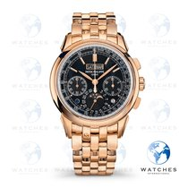 Patek Philippe Perpetual Calendar Chronograph Rose gold 41mm Black No numerals United States of America, New York, New York