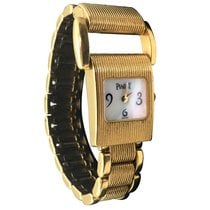 Piaget Protocole Yellow gold 17mm Mother of pearl Arabic numerals United States of America, New York, Greenvale