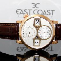A. Lange & Söhne Zeitwerk Red gold 41.9mm Silver Arabic numerals United States of America, Florida, Miami