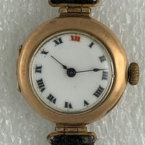 Rolex Antique W&D Solid 9ct Gold Military  Officers 1919 usados