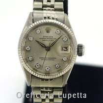 Rolex Oro blanco Automático 25mm usados Oyster Perpetual Lady Date
