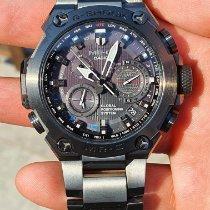 Casio Titan Kvarc Crn Bez brojeva 54.7mm rabljen G-Shock