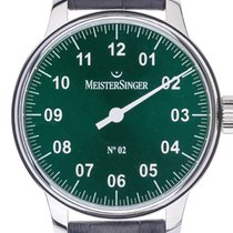 Meistersinger N° 02 new 2021 Watch with original box and original papers AM6609N