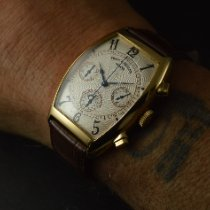 Franck Muller Yellow gold 34mm Automatic 6850 CC MC pre-owned
