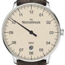 Meistersinger Neo Plus Steel 40mm Champagne
