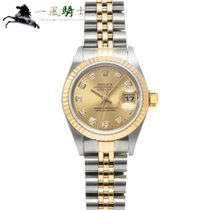Rolex Lady-Datejust pre-owned 26mm Champagne Gold/Steel