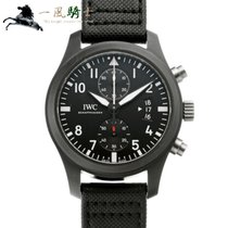 IWC Pilot Chronograph Top Gun 46mm Чёрный