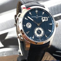Ulysse Nardin Dual Time Steel 42mm Blue No numerals