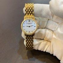 Baume & Mercier nou Cuart 24mm Aur galben