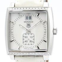 TAG Heuer Monaco Lady Steel 37mm White