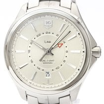 TAG Heuer Link Calibre 7 Stahl 42mm Silber