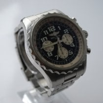 Breitling Chronospace Automatic Steel 46mm Black Arabic numerals