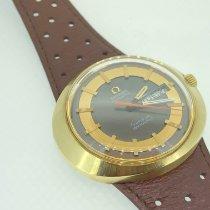 Omega Genève Gold/Steel 41mm Brown No numerals