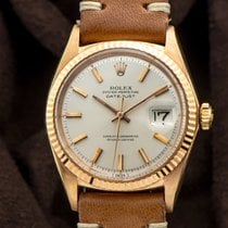 Rolex Or rose Remontage automatique 36mm occasion Datejust
