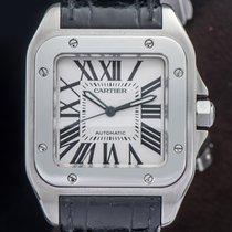 Cartier Santos 100 Acier 42mm France, Paris